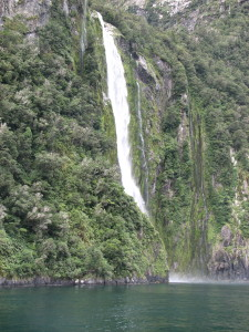 Stirling falls, South Island, New Zealand